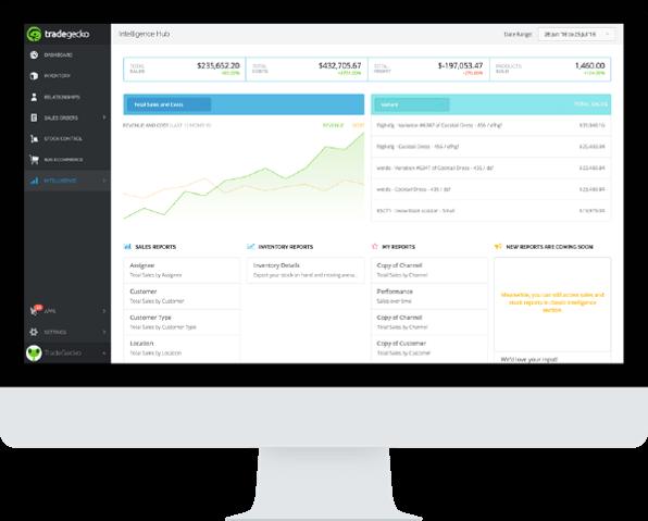 Tradegecko inventory management software